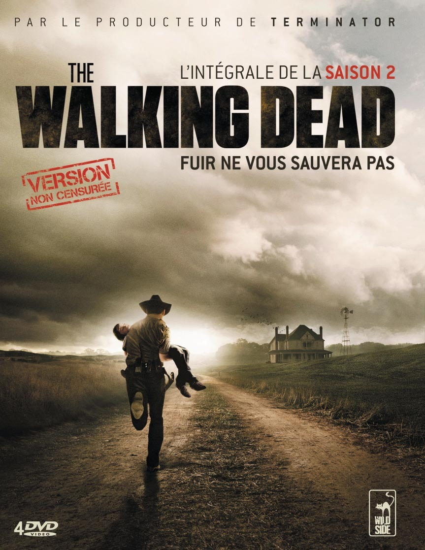 the walking dead saison 2 version non censur e la critique test dvd