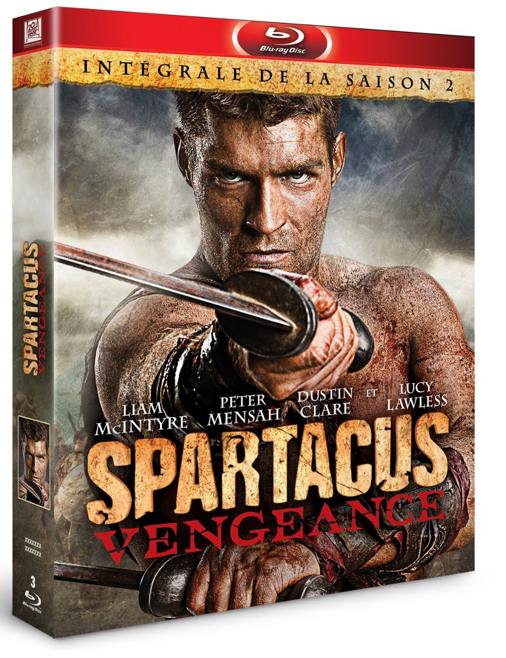 Filme Spartacus for spartacus vengeance - le blu-ray hardcore !