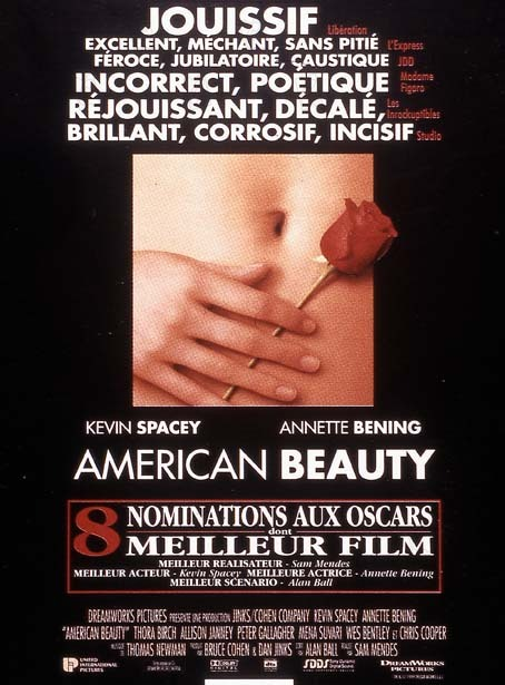 film critique american beauty Negative space rating a must see directed and written by chris petit with robert mitchum, manny farber, dave hickey, and (as narrator) petit by.