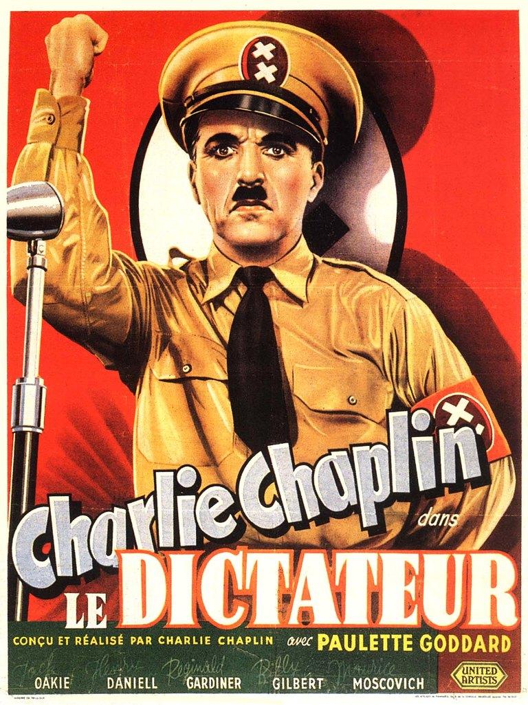 film le dictateur chaplin