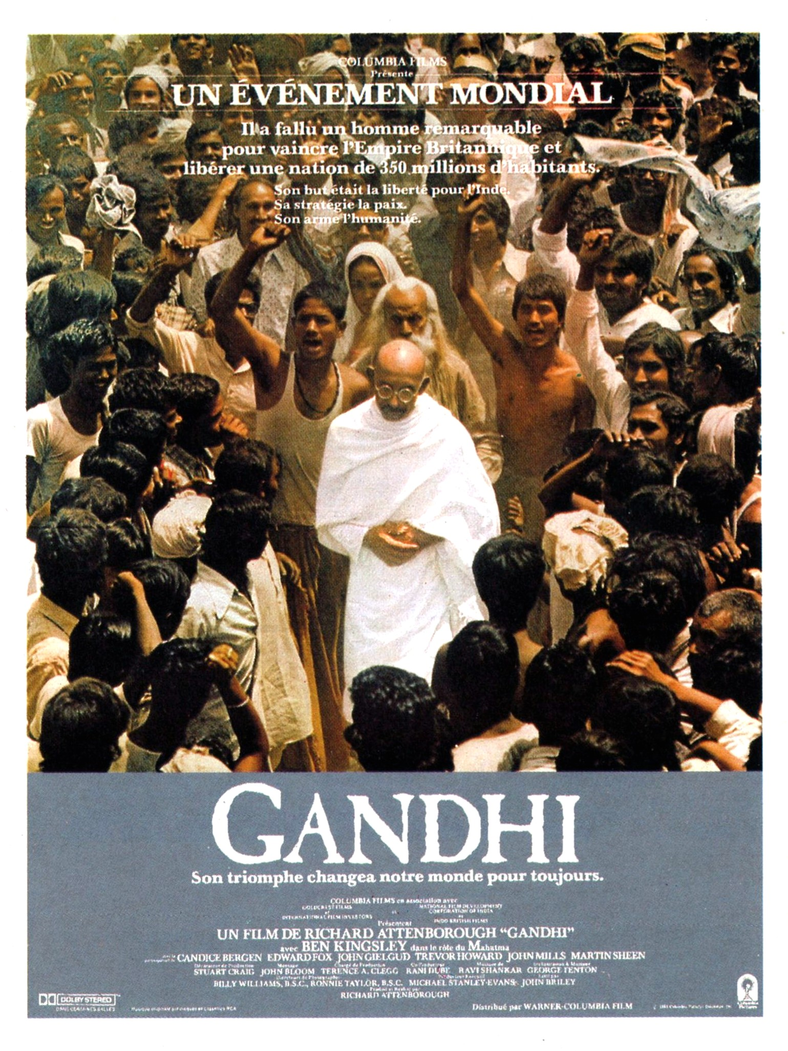 Gandhi - du la critique film
