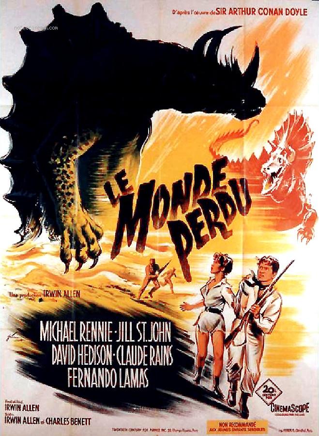 Le monde perdu (1960) - la critique du film