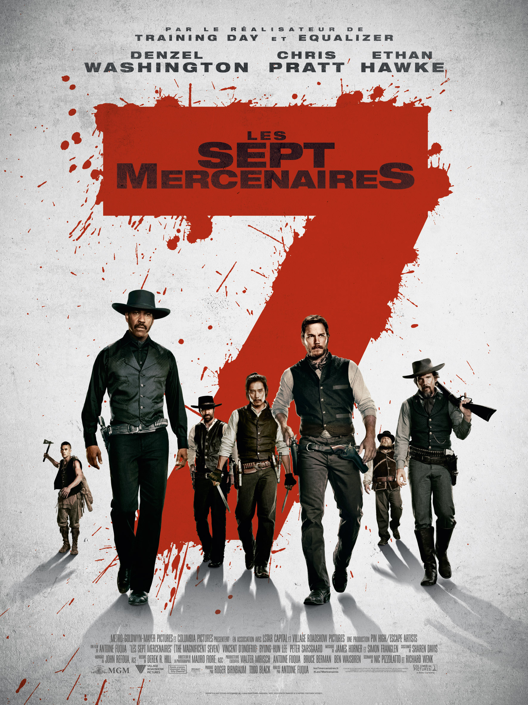 Les 7 Mercenaires (201...