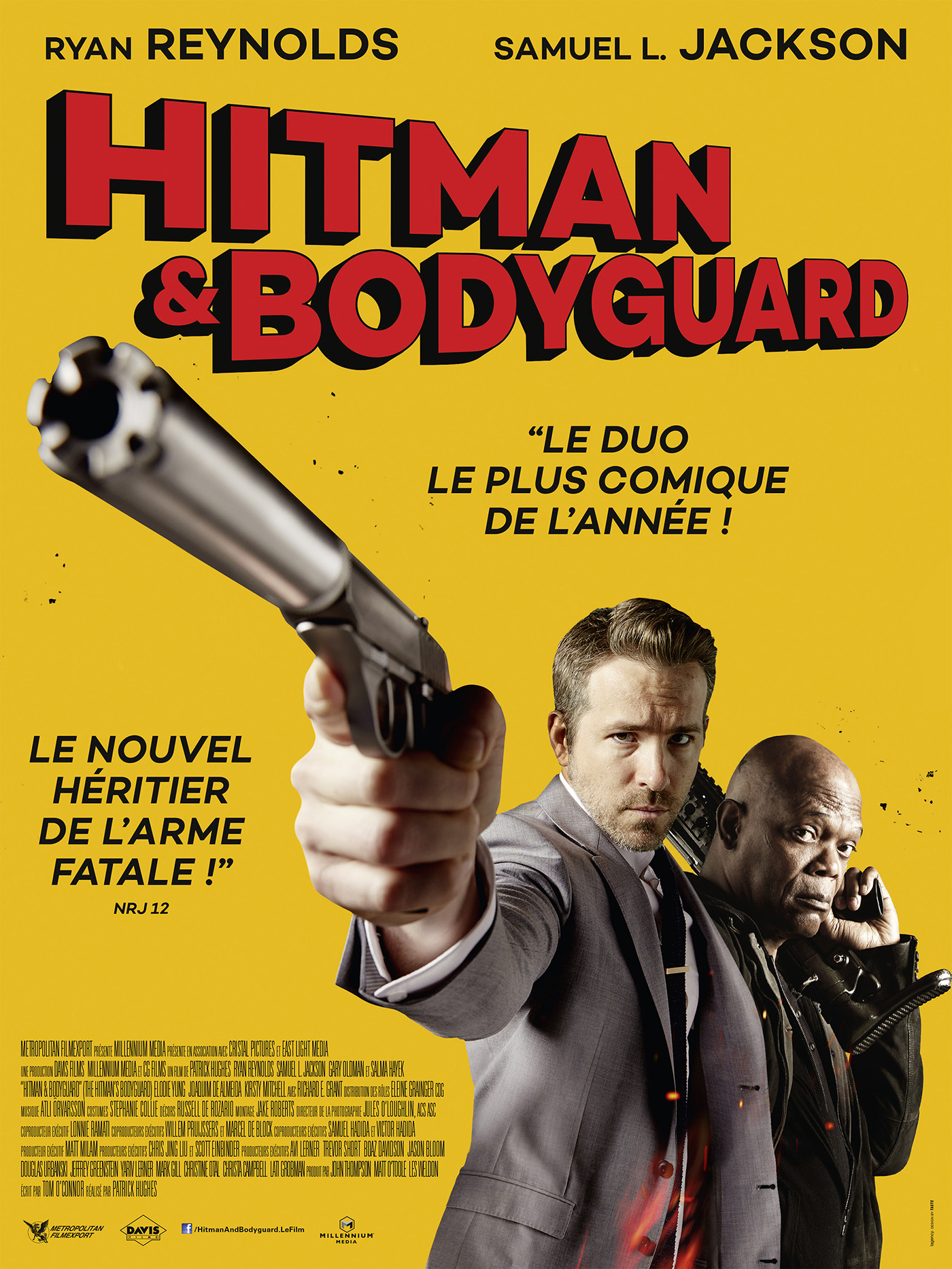 hitman bodyguard la critique du film. Black Bedroom Furniture Sets. Home Design Ideas