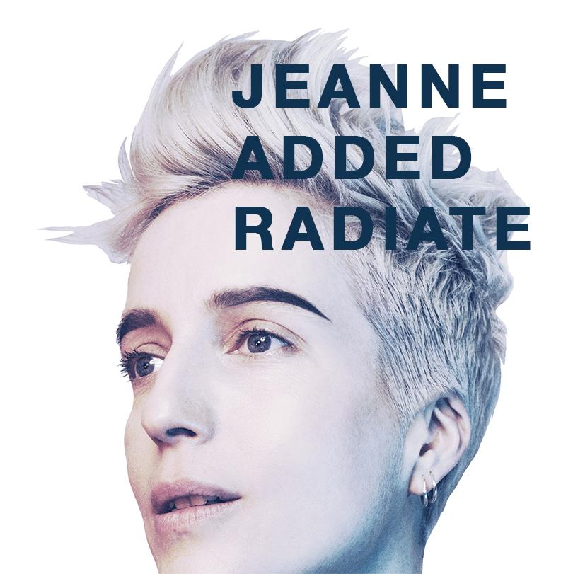 jeanne added radiate