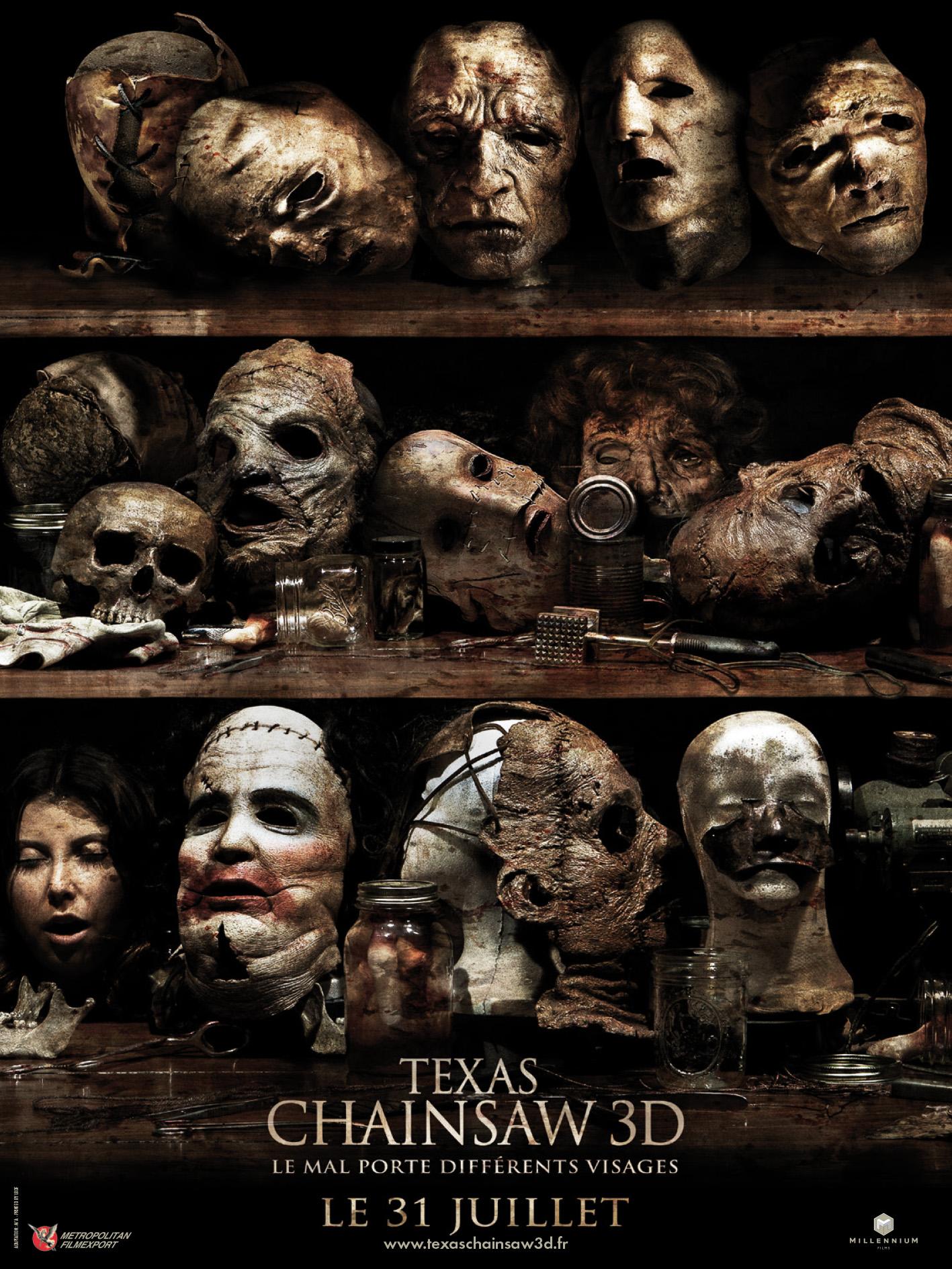 Texas Chainsaw 3d La Suite De Massacre 224 La Tron 231 Onneuse