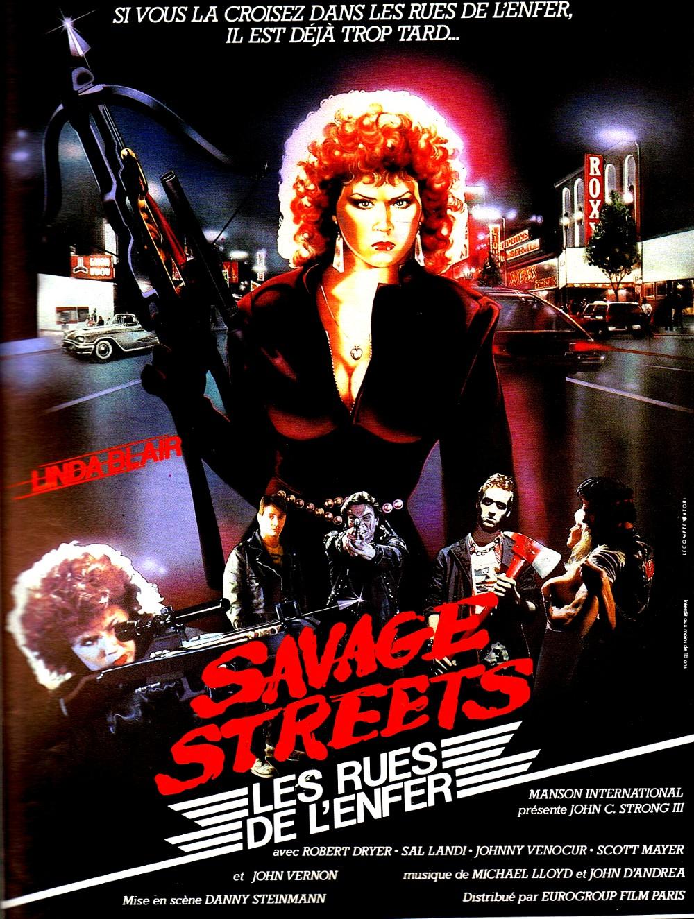 Linda Blair Savage Island Savage streets  les rues de l Linda Blair Savage Island