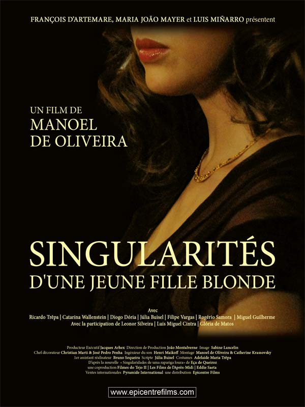 Image result for les peculiarities d'un blonde femme  manoel de oliveira
