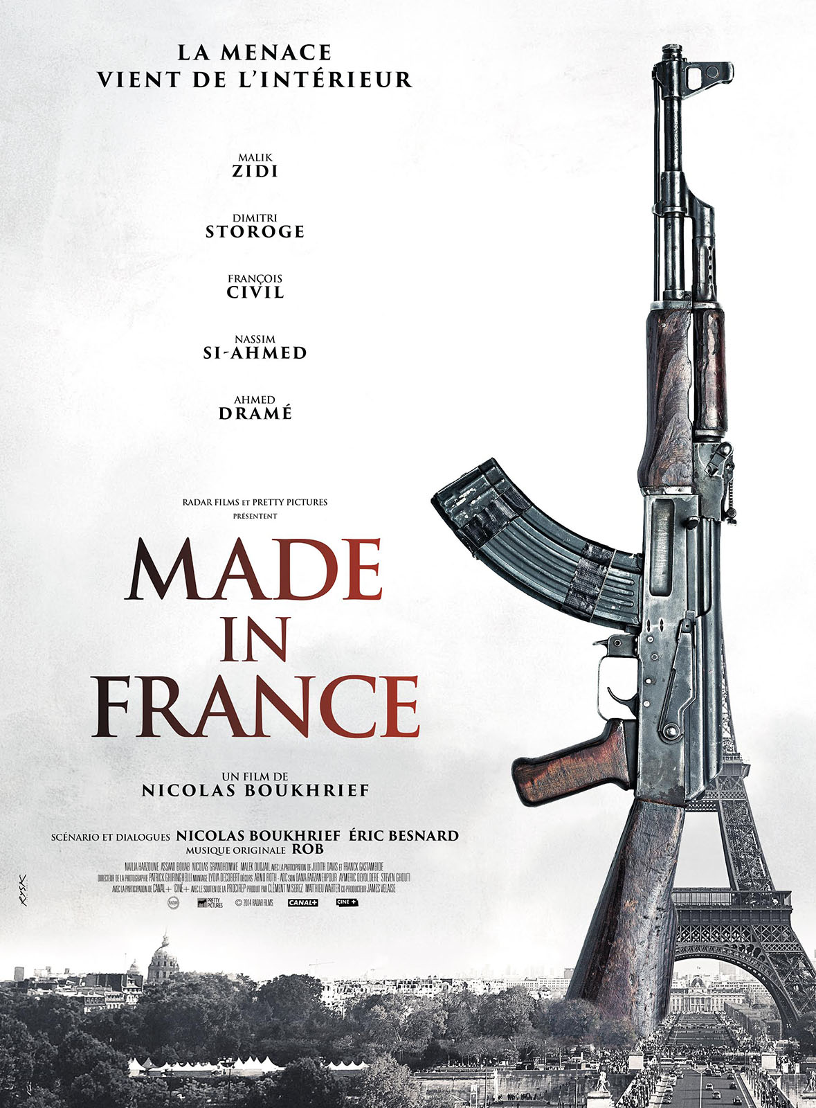 made in france critique du film. Black Bedroom Furniture Sets. Home Design Ideas