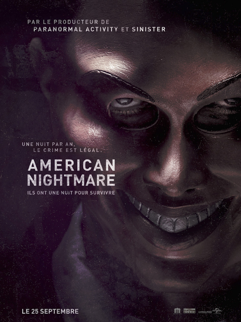 a critique of the violence portrayed in the 2013 film the purge The purge is a series of american dystopian action horror films created by james  demonaco, who also wrote and directed its first three films: the purge (2013),  the purge: anarchy (2014) and the purge: election  the film was met with  generally mixed reviews, though many critics agreed it was a large improvement  over.