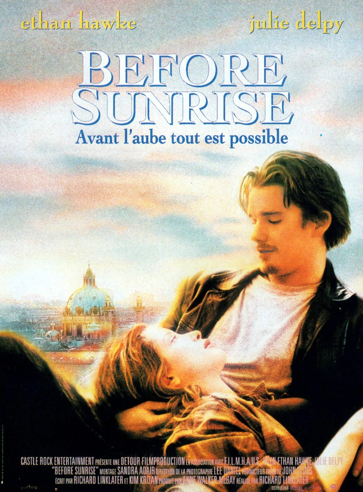 before sunrise A young man and woman meet on a train in europe, and wind up spending one evening together in vienna unfortunately, both know that this will probably be their only.
