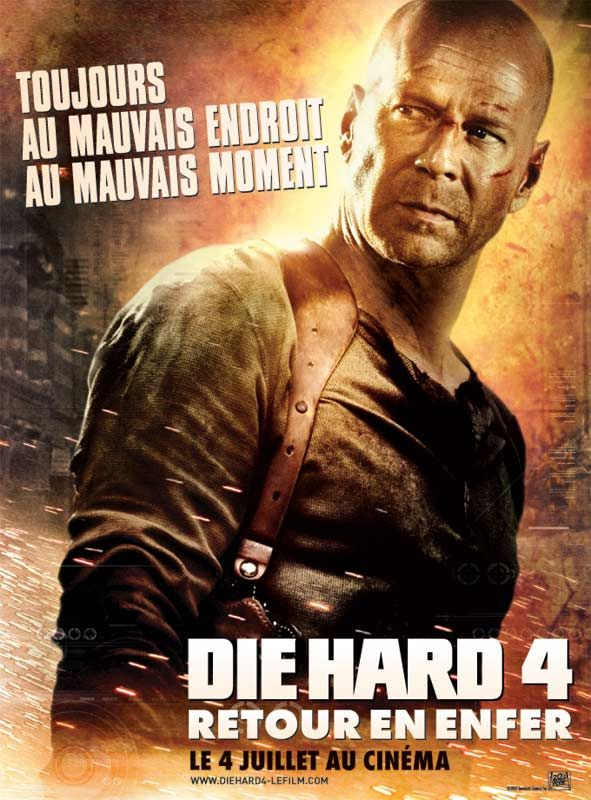 Image result for die hard 4  poster in fr.