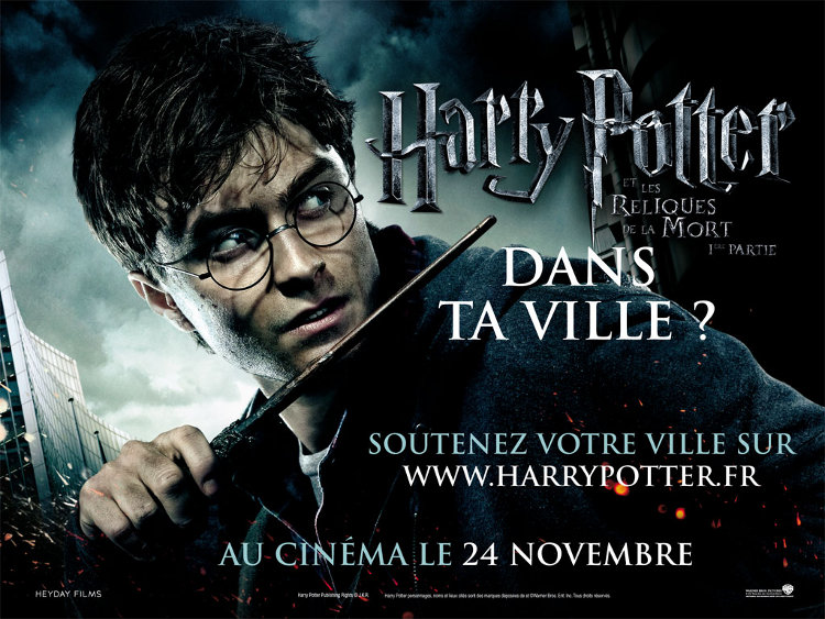 Harry potter dans ta ville for Dans harry potter