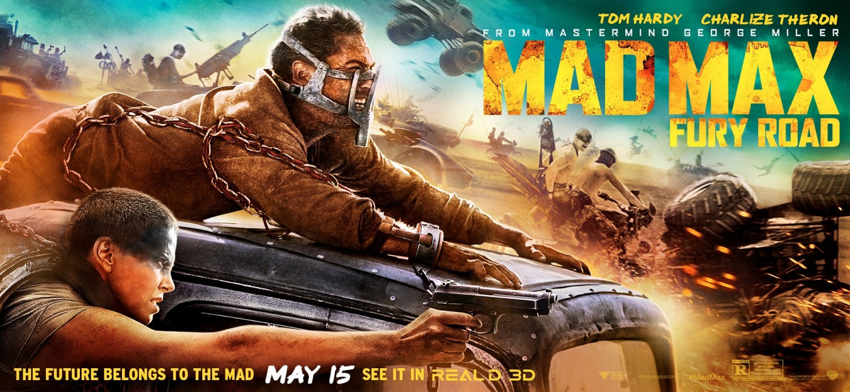 Road Mad max movie fury