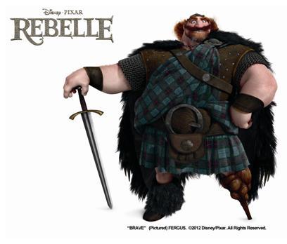Rebelle de pixar deux nouveaux personnages - Cheval rebelle ...