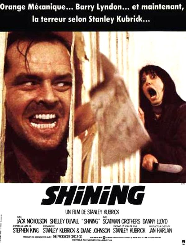 Top des affiches de cinéma - Page 3 Shining