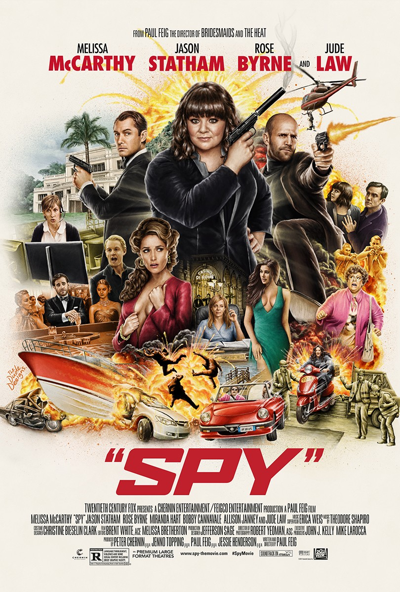 Spy - la critique du film Funny Movies 2015