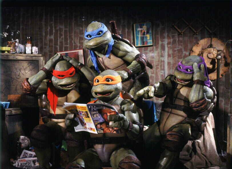 Les tortues ninja 1990 la critique du film - Le rat des tortue ninja ...