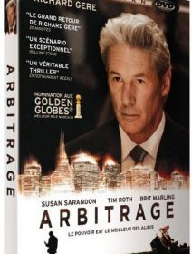 Arbitrage - le thriller financier avec Richard Gere, critique et test DVD