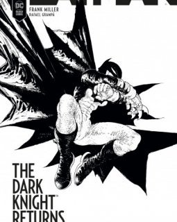 The Dark Knight Returns : The Golden Child - Frank Miller, Rafael Grampá - chronique BD
