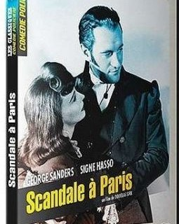 Scandale à Paris - le test DVD