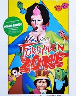 Forbidden zone - la critique du film