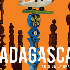 Madagascar exposition au quai Branly - Jacques Chirac