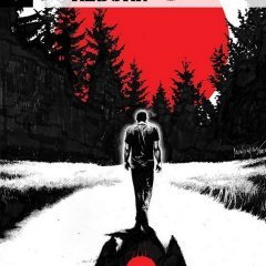 Couverture de Colorado, premier tome de Bloodshot Reborn, qui constitue une suite au crossover The Valiant