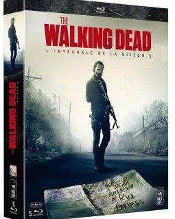 "The Walking Dead saison 5 : l'édition collector limitée Blu-ray ""Asphalt Walker"""