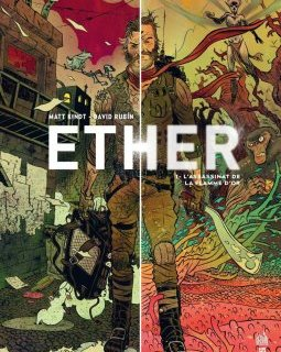 Ether - T1 - L'assassinat de la flamme d'or - La chronique BD