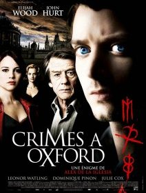 Crimes à Oxford - la critique + le test DVD