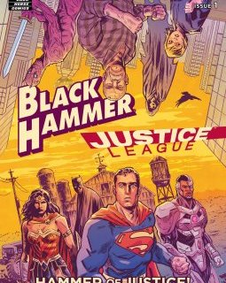 Annonce d'un crossover Black Hammer/Justice League