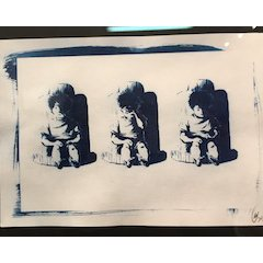 Cyanotypes, Marie Deschamps