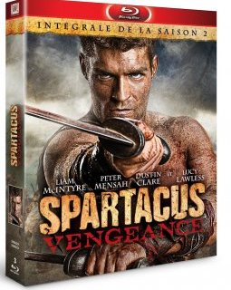 Spartacus Vengeance - le blu-ray hardcore !