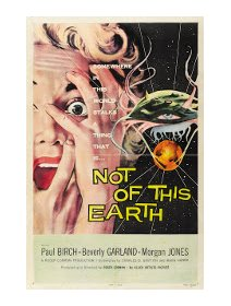 Not of this earth - la critique