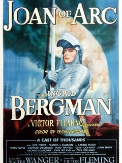 Jeanne d'Arc - Victor Fleming - critique