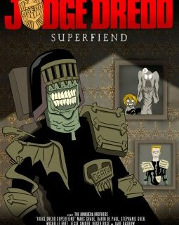 Judge Dredd Superfiend la websérie animéee dévoile son trailer irrévérencieux