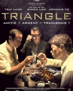 Triangle - critique du Tsui Hark, Ringo Lam et Johnnie To