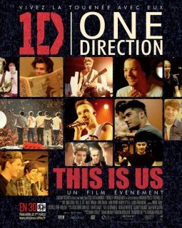 1D One direction, this is us - le concert ado en 3D de cette fin d'été