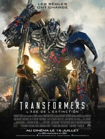 Transformers : L'âge de l'extinction : l'affiche officielle du film