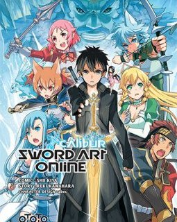 Sword Art OnLine Calibur - la chronique BD