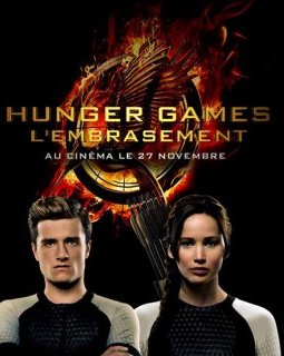 Hunger Games 2 : l'embrasement, les affiches personnages