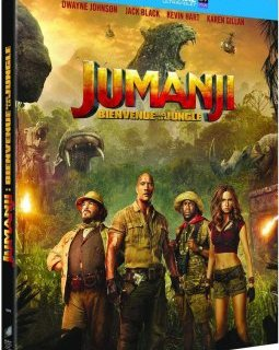 Jumanji : Bienvenue dans la jungle – le test blu-ray