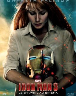 Iron Man 3 : l'affiche de Gwyneth Paltrow alias Pepper Potts