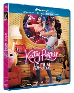 Katy Perry le film Part of Me - la critique + test blu-ray