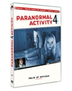 Paranormal Activity 4 - le test DVD