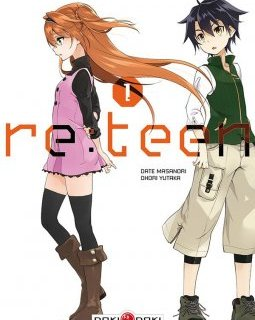 Re.Teen . T1 – La chronique BD