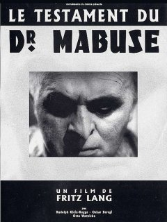Le testament du Dr. Mabuse - la critique du film + le test Blu-ray