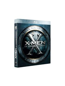 X-Men, le commencement - le test blu-ray