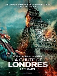 La chute de Londres - la critique du film